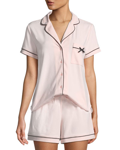 hey sunshine classic short pajama set