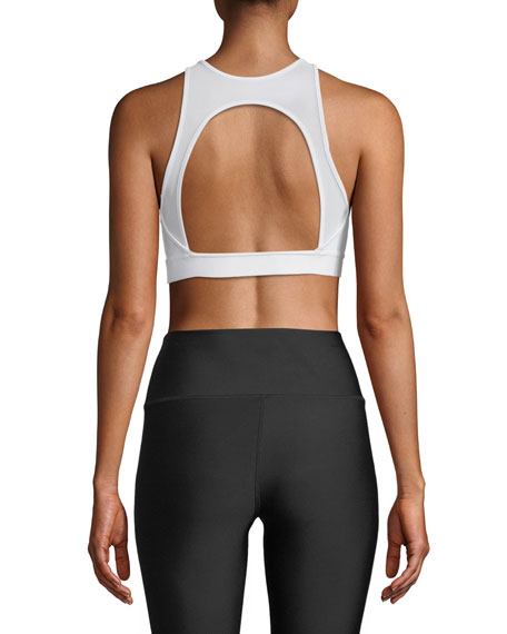 Incline Open-Back Light-Support Sports Bra