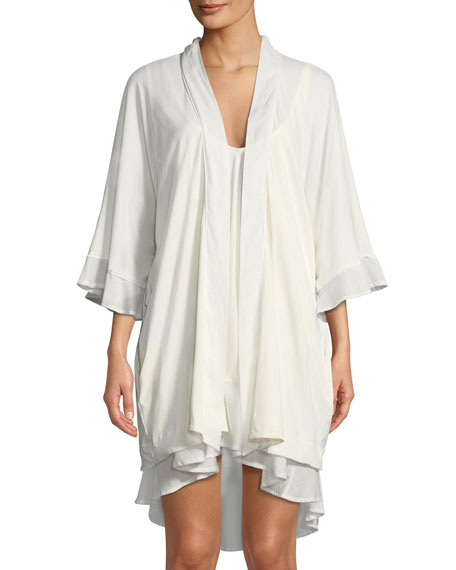 Bettina High-Low Cotton Nightgown