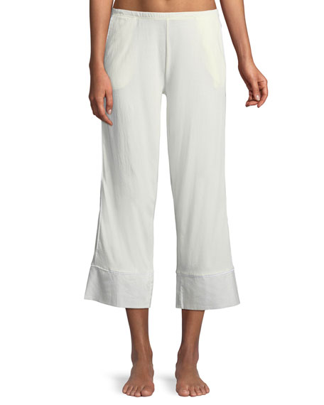 Skin Barrie Cropped Lounge Pants
