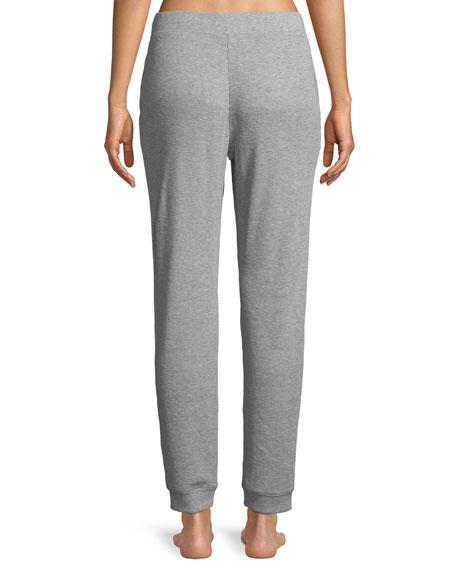 Edie Thermal-Knit Lounge Pants