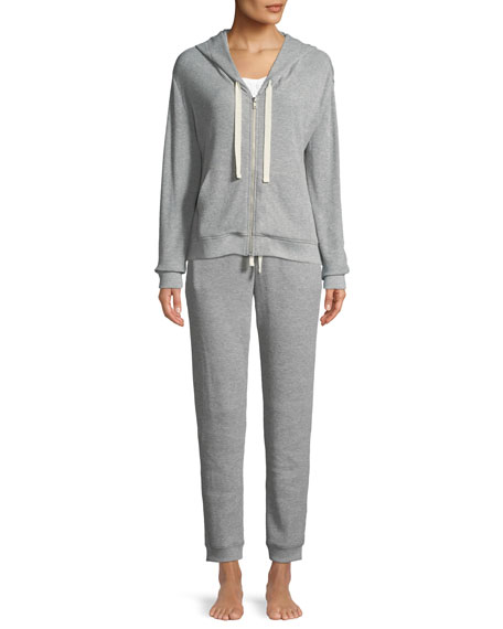 Edie Thermal-Knit Lounge Pants