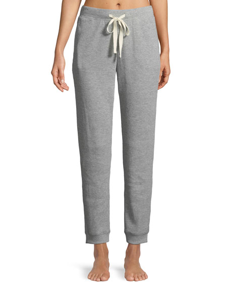 Skin Edie Thermal-Knit Lounge Pants