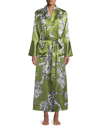 Capability Rola Screen-Print Long Robe