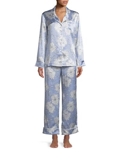 Lila Kiko Classic Pajama Set