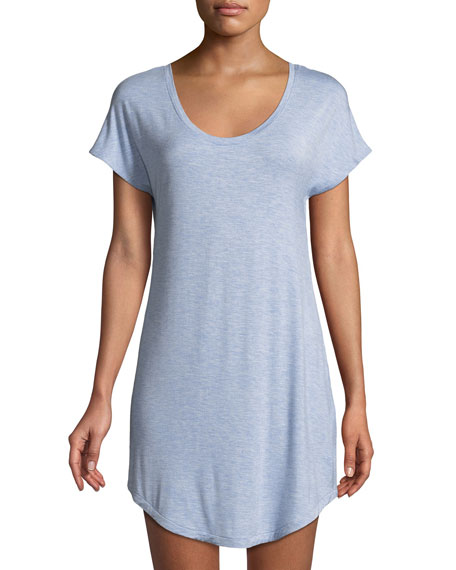 Hollyn Heathered Jersey Sleepshirt