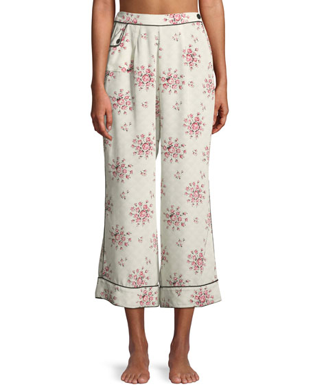 Trudy Tea Rose Pajama Pants