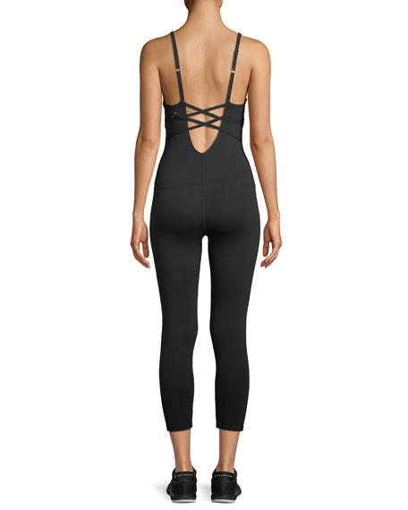 Levels Strappy-Back Sleeveless Bodysuit
