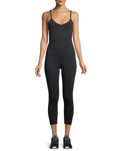 Levels Strappy-Back Sleeveless Bodysuit