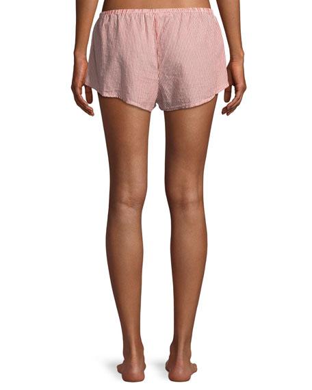 Shyla Pinstriped Lounge Shorts