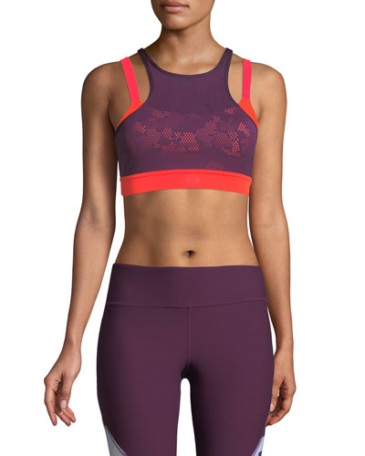 Vanish Mesh Mid-Impact Sports Bra