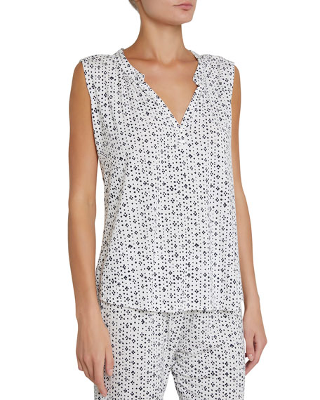 Eberjey Artesano Dot-Print Sleeveless Top and Matching Items