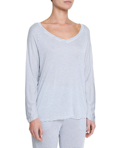 Georgie Not-So-Basic Long-Sleeve Top