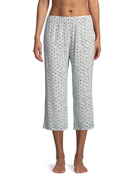 Eberjey Artesano Dot Cropped Lounge Pants