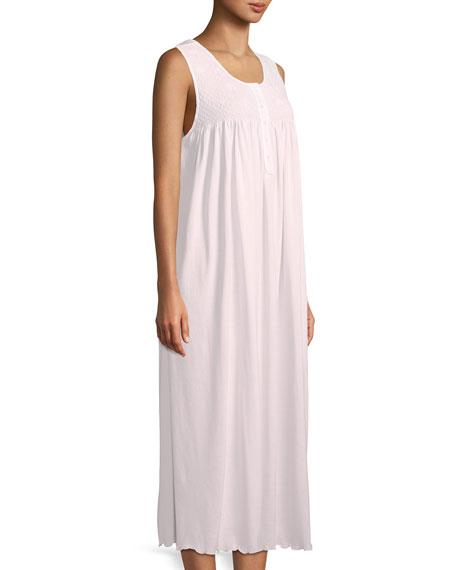 Dandelion Sleeveless Long Pima Cotton Nightgown