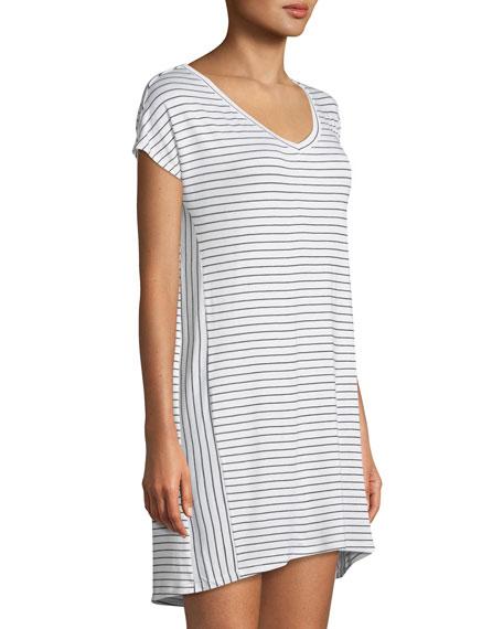 Vega Striped Sleepshirt