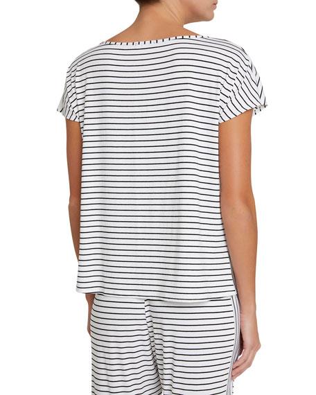 Vega Striped Lounge T-Shirt