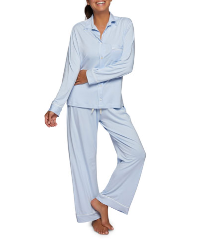 Bamboo-Knit Pajama Set