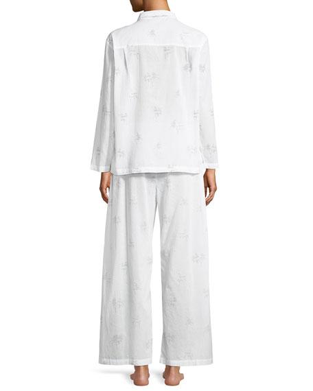 Palms Cotton Pajama Set