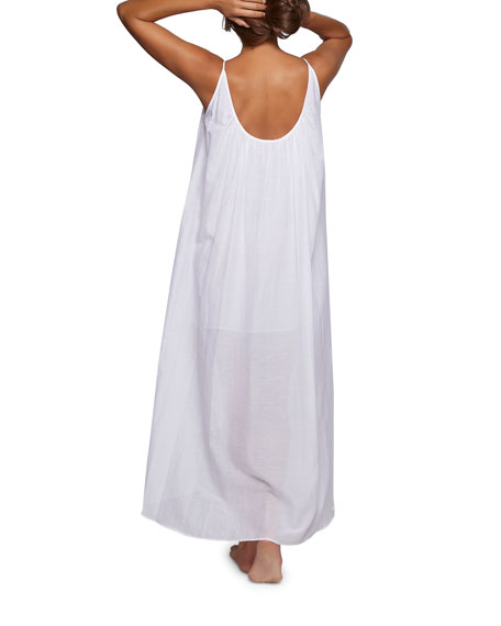 Double-Layered Sleeveless Nightgown