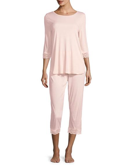 Valencia Crop Pajama Set