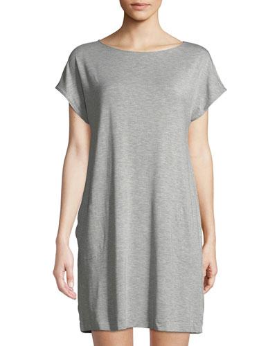 Natural Elegance Cap-Sleeve Nightgown
