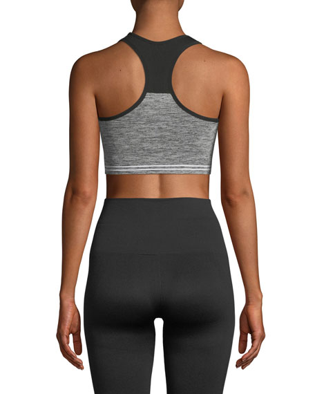 Cadet Colorblock Logo Sports Bra