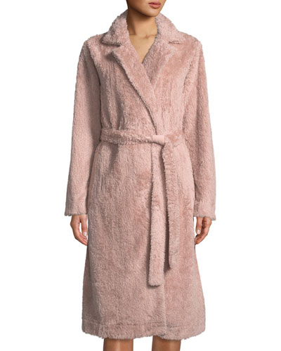 Yvette Long Fuzzy Robe
