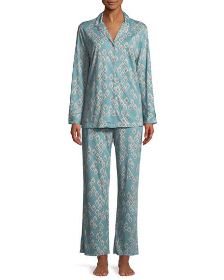 Chakra Classic Print Pajama Set