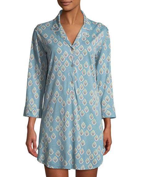 Natori Chakra Print Sleepshirt