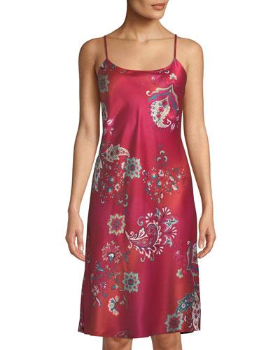Buddakan Paisley-Print Nightgown
