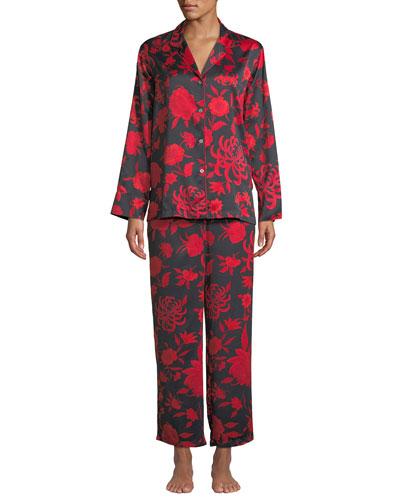 Japonisme Classic Pajama Set