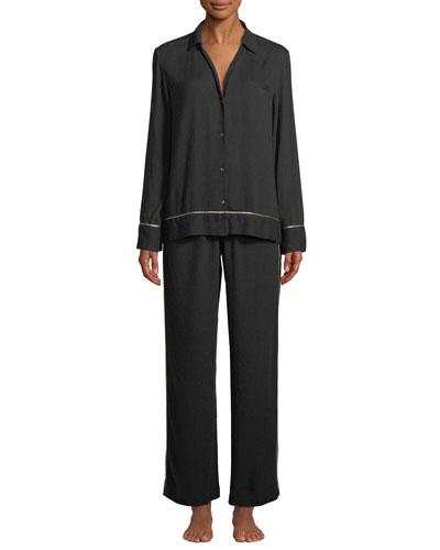 Harlow Classic Woolen Pajama Set