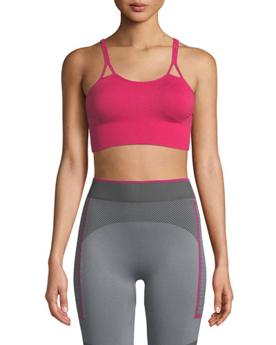 Seamless Mid-Impact Sports Bra