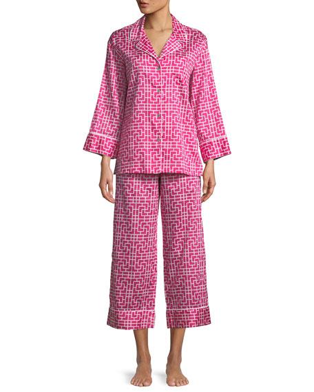 Abstract Maze Classic Pajama Set