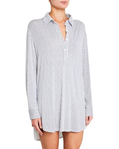 Nordic Stripes Boyfriend Sleepshirt