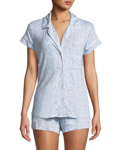 Fleur De Vie Short Pajama Set