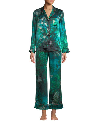 Tom Gallant Ines Forest Classic Pajama Set