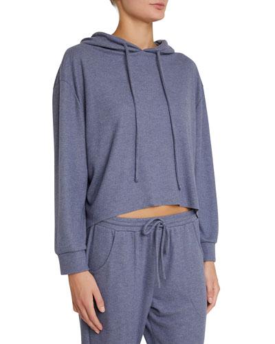 Mina High-Low Lounge Hoodie Sweatshirt