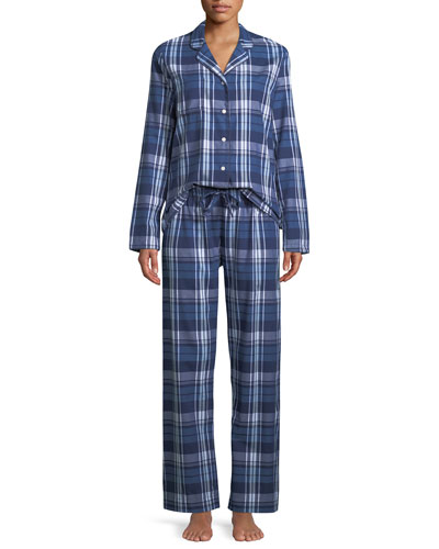 Ranga Plaid Classic Pajama Set