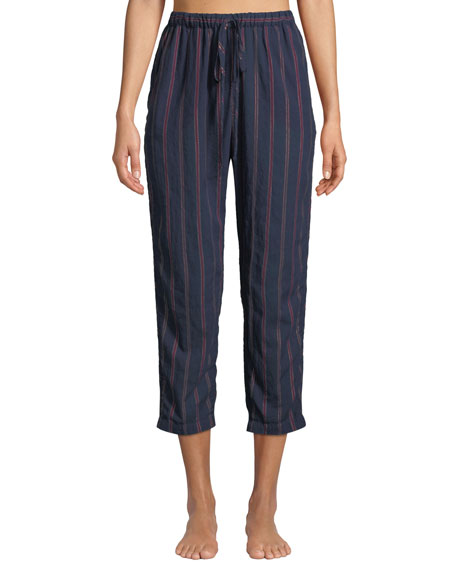 Kalvyn Beckett Striped Pajama Pants