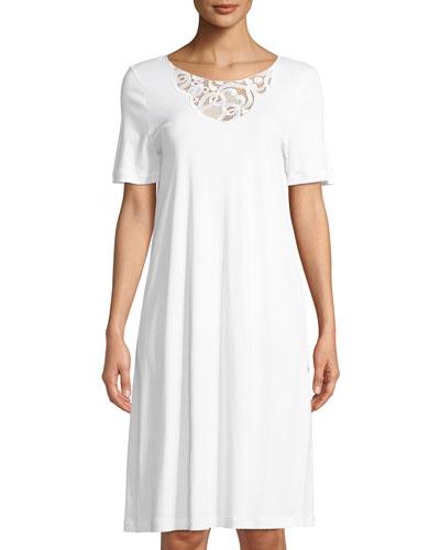 Ella Short-Sleeve Nightdress