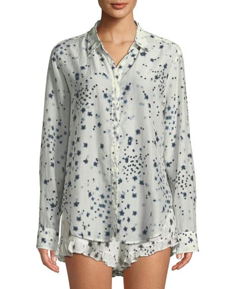 Xirena Beau Etoile-Print Lounge Shirt and Matching Items