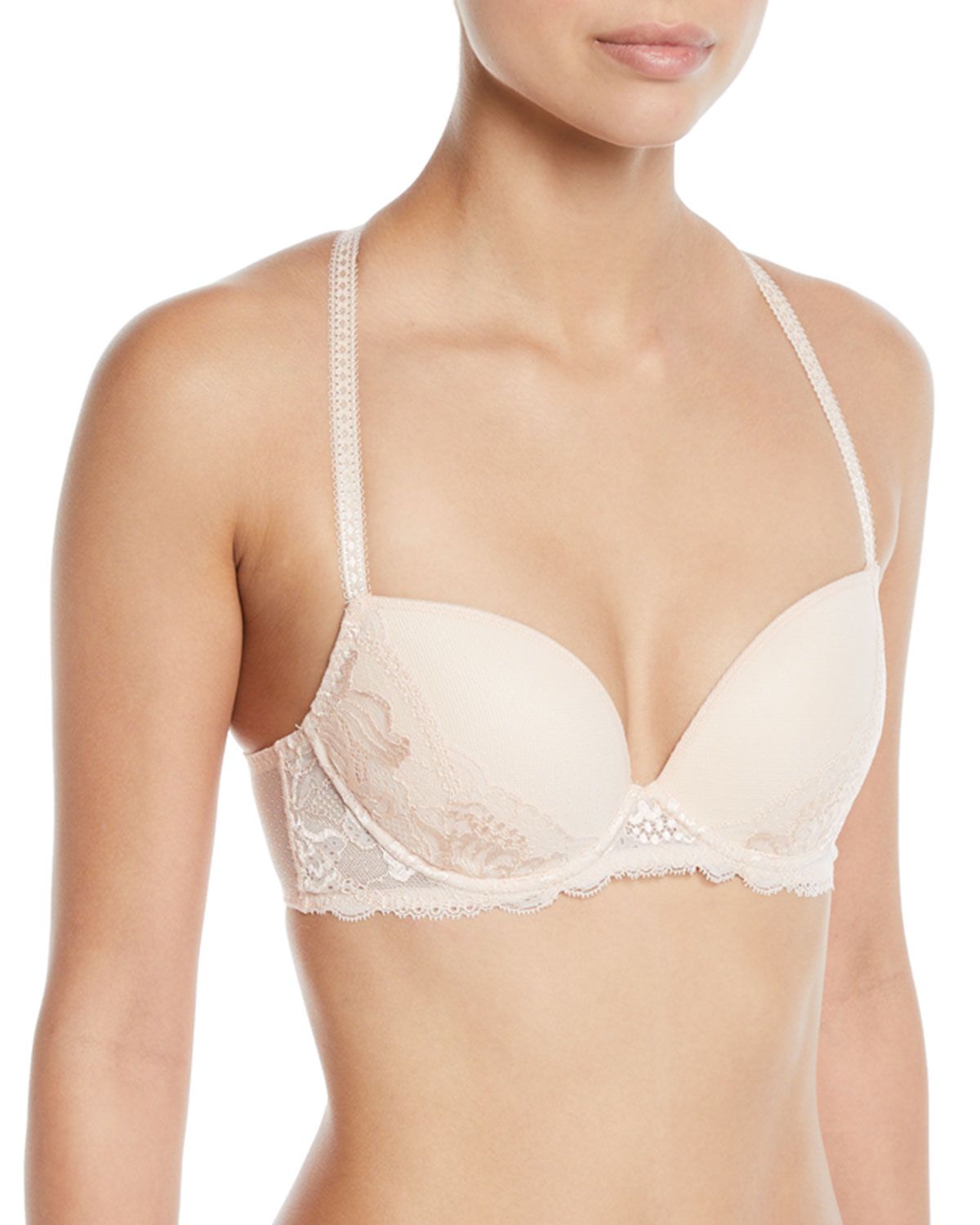00786acf1c Simone Perele Promesse Lace-Trim Push-Up Bra and Matching Items ...