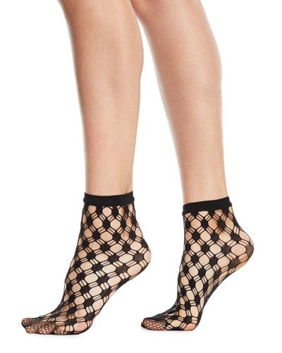 Athina Geo-Net Ankle Socks