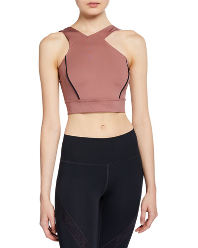 Misty Crop Top with Shoulder Cutout