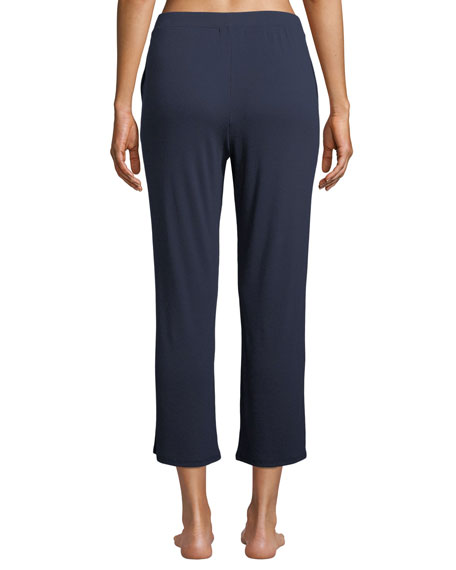 SKIN Cottons NOELLE CROPPED LOUNGE PANTS