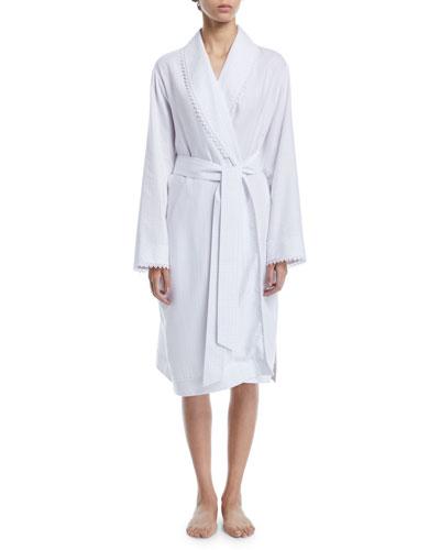 Maxi Short Cotton Robe