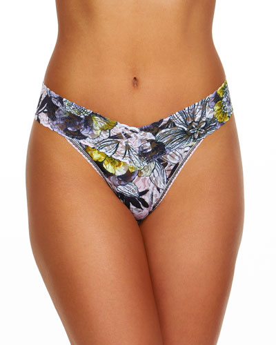 Goldilocks Original Rise Lace Thong