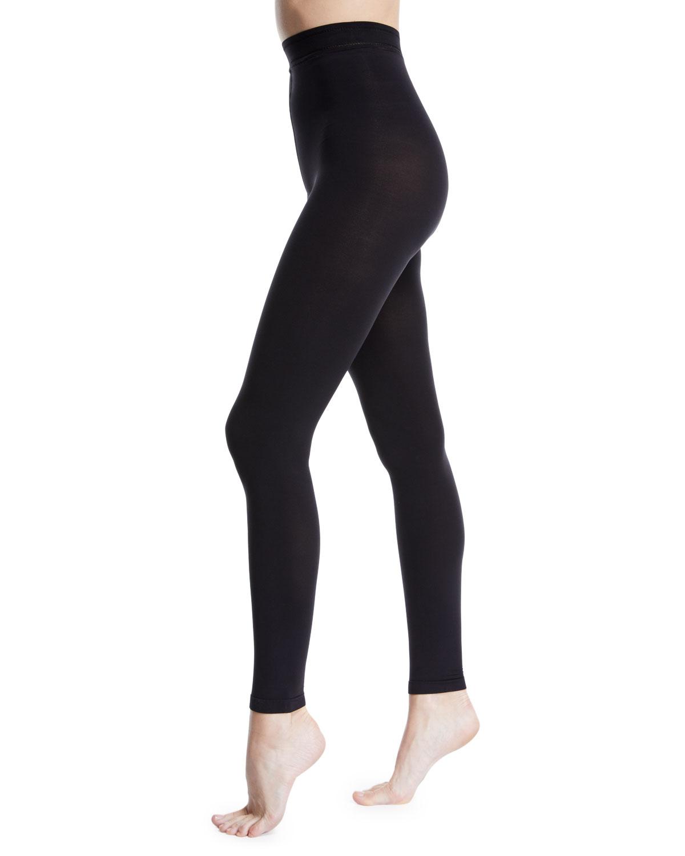 e5d91b977b Donna Karan Matte Jersey Footless Tights